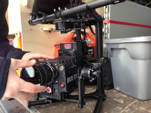 red epic and movi