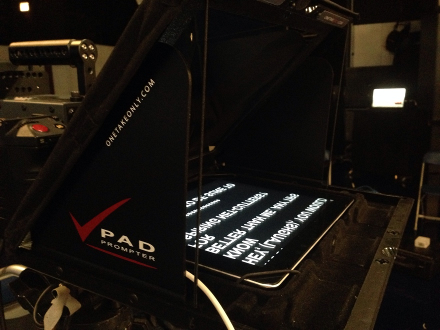 words on pad prompter