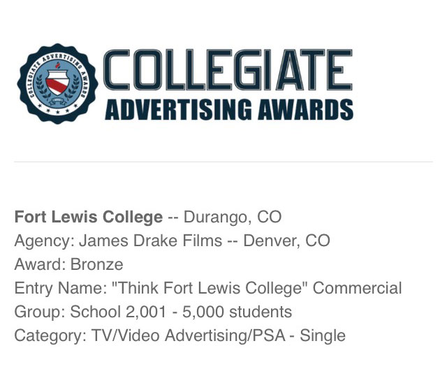 collegiate ad award