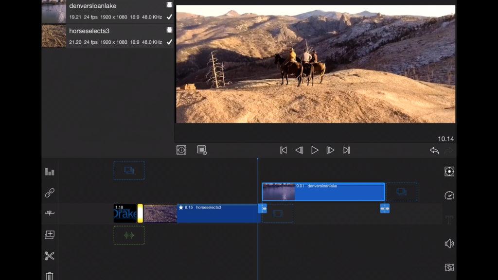 multitrack editing on ipad