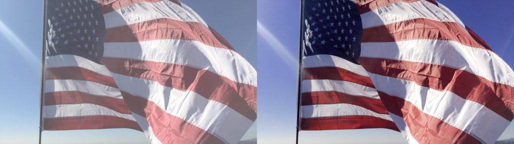 flag lut log iphone